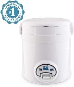 aroma_housewares_mi_3_cup_cool_touch_mini_rice_cooker_white