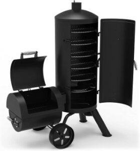 Dyna-Glo_Signature_Series_DGSS1382VCS-D_Heavy_Duty_Vertical_Offset_Charcoal_Smoker_And_Grill